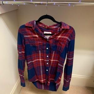 Red and Blue Flannel- Mossimo
